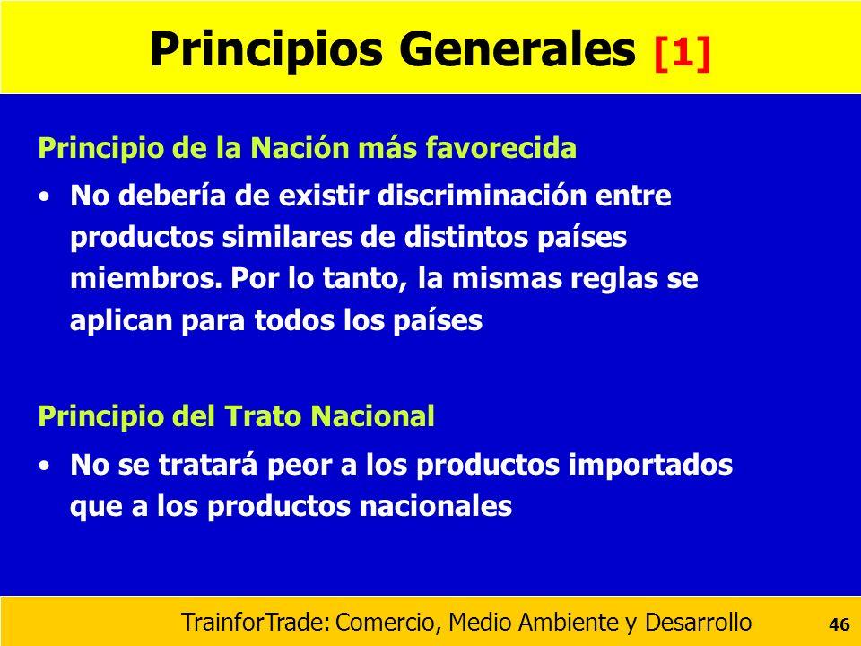 Principios Generales [1]
